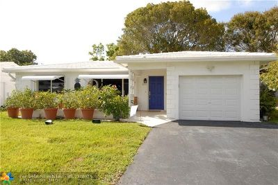 Pompano Beach Single Family Home For Sale: 3251 E Golf Blvd