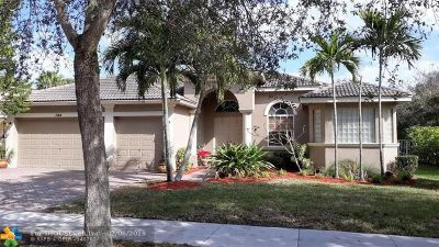 Coconut Creek Single Family Home For Sale: 7144 NW 47th Ln
