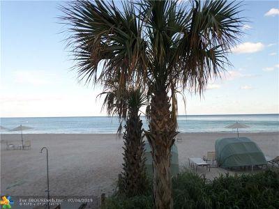 Condo/Townhouse For Sale: 3900 Galt Ocean Dr #1616