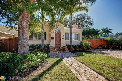 Fort Lauderdale Single Family Home For Sale: 800 SE 10th St