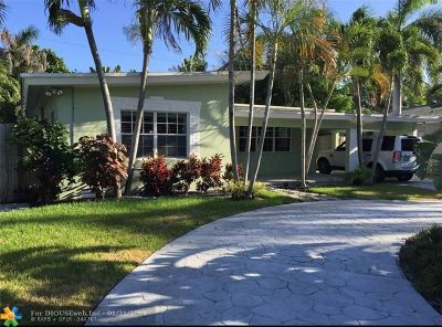 Pompano Beach Single Family Home For Sale: 3404 Norfolk St