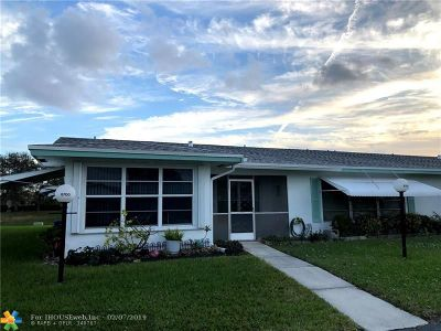 Plantation Condo/Townhouse For Sale: 8700 NW 10th St #UNIT A