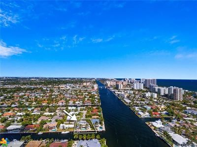 Cooper City, Coral Springs, Fort Lauderdale, Hallandale, Hillsboro Beach, Hollywood, Lighthouse Point, Oakland Park, Plantation, Pompano Beach, Sunrise, Wilton Manors Single Family Home For Sale: 2894 NE 26th St