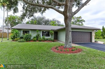Coral Springs Single Family Home Backup Contract-Call LA: 3226 NW 122nd Ave