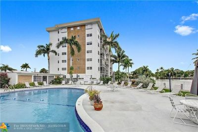 Oakland Park Condo/Townhouse For Sale: 3040 NE 16th Ave #102A