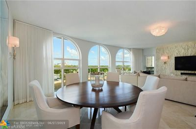 Fort Lauderdale Condo/Townhouse For Sale: 2845 NE 9th Street #605