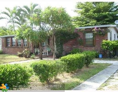Pompano Beach Single Family Home For Sale: 1837 NE 48th Ct