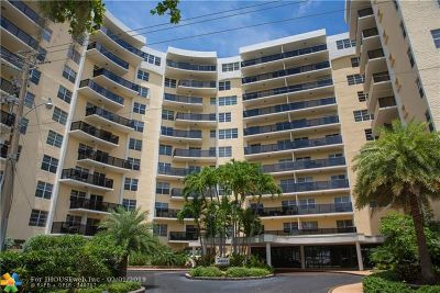 Fort Lauderdale Condo/Townhouse For Sale: 5100 Dupont Blvd #11L