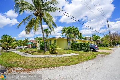 Fort Lauderdale Multi Family Home For Sale: 501 NE 17th Ave
