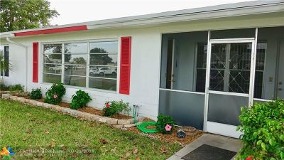 Plantation Condo/Townhouse For Sale: 8724 NW 10th St