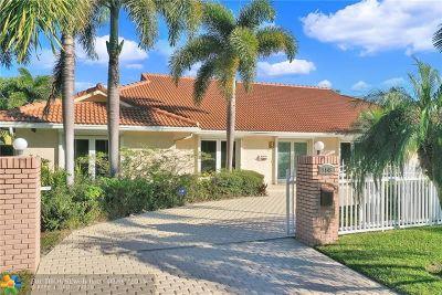 Single Family Home For Sale: 2845 NE 35th St