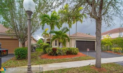 Weston Single Family Home Backup Contract-Call LA: 1783 Sycamore Ter