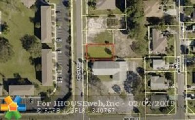 Deerfield Beach Residential Lots & Land For Sale: 432 NW 1st Ter