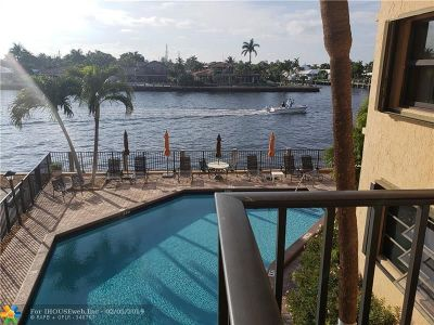 Pompano Beach Condo/Townhouse For Sale: 501 N Riverside Dr #201