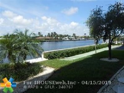 Pompano Beach Condo/Townhouse For Sale: 303 N Riverside Dr #105