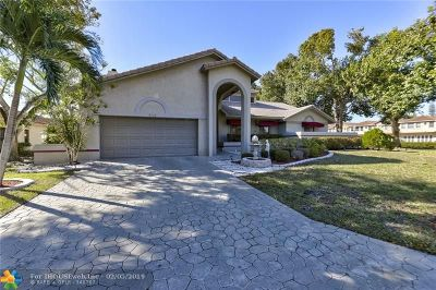 Coral Springs Single Family Home For Sale: 2112 Cherry Hills Way