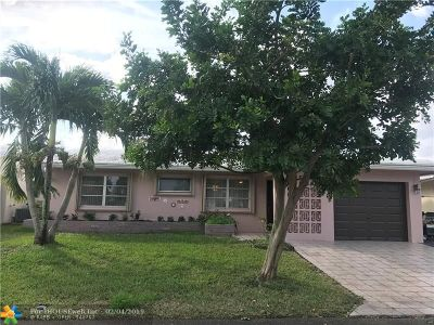 Tamarac Single Family Home For Sale: 4510 NW 45th Ct