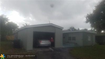Lauderdale Lakes Single Family Home For Sale: 3550 NW 34 Av