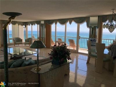 Fort Lauderdale FL Condo/Townhouse For Sale: $1,175,000