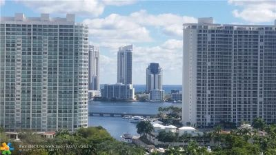 Aventura Condo/Townhouse For Sale: 2851 NE 183rd St #1807E