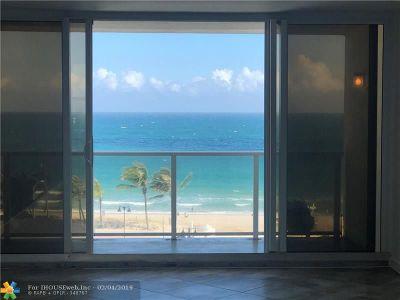 Rental For Rent: 1200 N Fort Lauderdale Beach Blvd #604