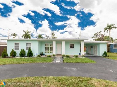 Fort Lauderdale Single Family Home For Sale: 3306 SW 17th St
