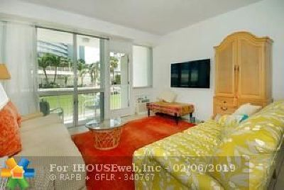 Fort Lauderdale Condo/Townhouse For Sale: 1920 S Ocean Dr #103