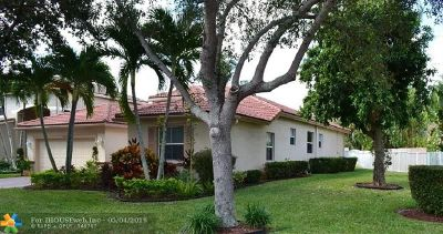 Coconut Creek Single Family Home For Sale: 4829 NW 53rd Cir