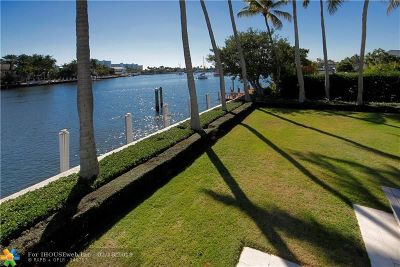 Cooper City, Coral Springs, Fort Lauderdale, Hallandale, Hillsboro Beach, Hollywood, Lighthouse Point, Oakland Park, Plantation, Pompano Beach, Sunrise, Wilton Manors Single Family Home For Sale: 64 Isla Bahia Dr