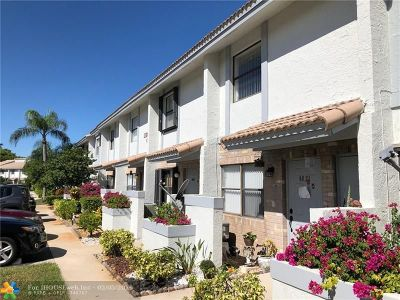 Coral Springs Condo/Townhouse For Sale: 9819 Riverside Dr #47-6