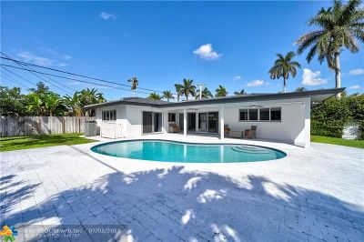 Lighthouse Point FL Single Family Home For Sale: $595,000