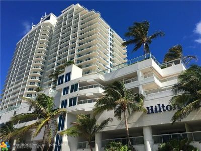 Fort Lauderdale Condo/Townhouse For Sale: 505 N Fort Lauderdale Beach Blvd #1405