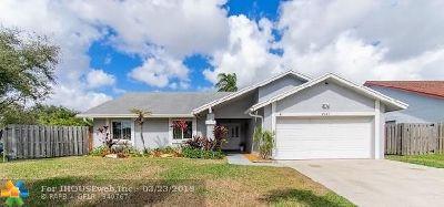 Sunrise Single Family Home Backup Contract-Call LA: 9731 NW 32nd Mnr