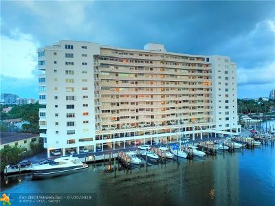 Fort Lauderdale Condo/Townhouse For Sale: 333 Sunset Dr #207