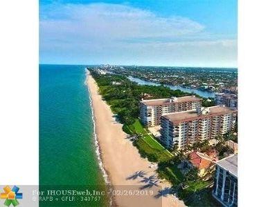 Hillsboro Beach Condo/Townhouse For Sale: 1147 Hillsboro Mile #403