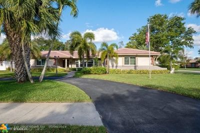 Coral Springs Single Family Home For Sale: 10117 Ramblewood Dr