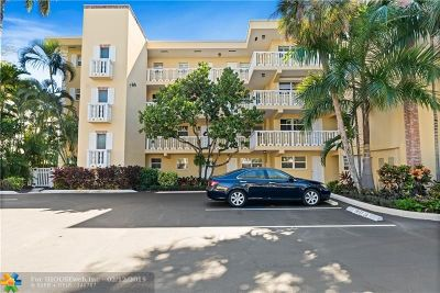Fort Lauderdale Condo/Townhouse For Sale: 1332 Bayview Dr #301