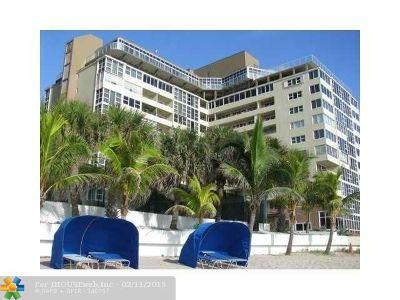 Condo/Townhouse For Sale: 4040 Galt Ocean Dr #435