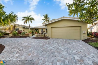 Fort Lauderdale Single Family Home For Sale: 5931 NE 15th Ave