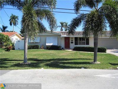 Oakland Park Single Family Home For Sale: 3910 NE 16 Ave