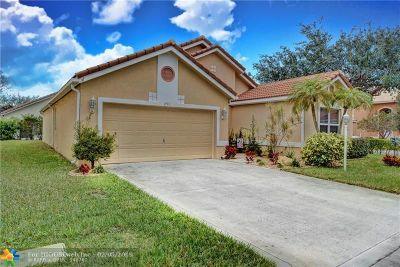 Coral Springs Single Family Home For Sale: 290 NW 116th Ter