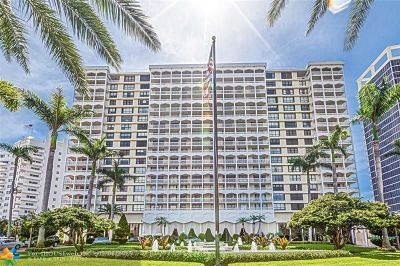 Bal Harbour Condo/Townhouse For Sale: 9801 Collins Ave #10P