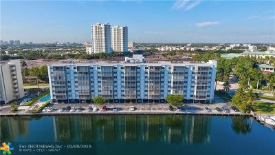 Hallandale Condo/Townhouse For Sale: 400 Diplomat Pkwy #610