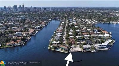 Fort Lauderdale FL Single Family Home For Sale: $9,995,000