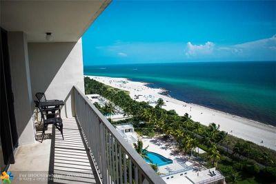 Miami Beach Condo/Townhouse For Sale: 2625 Collins Ave #1603