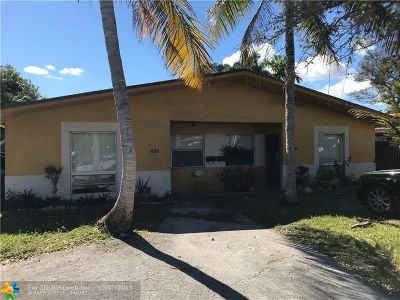 Fort Lauderdale Multi Family Home For Sale: 826 SW 14th St
