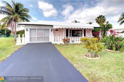 Tamarac Single Family Home Backup Contract-Call LA: 9415 NW 74th Pl