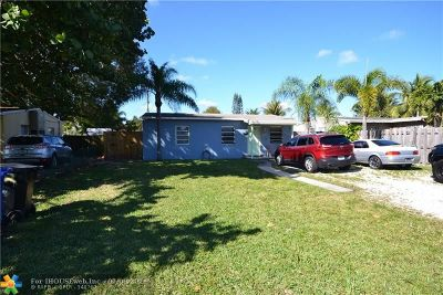 Fort Lauderdale Single Family Home Backup Contract-Call LA: 1413 NW 5th Ave