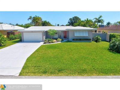 Wilton Manors Single Family Home For Sale: 1965 Coral Gardens Dr