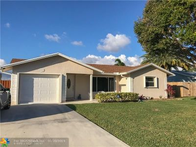 Tamarac Single Family Home For Sale: 9701 NW 67 St